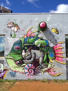 22 Pieces of Awesome Street Art from Around the World via Brit + Co. #streetart jd