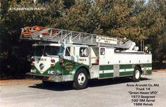 Chesapeake Bay Bridge, Fire Equipment, Fire Apparatus, Fire Engine, Fire Department, Fire Trucks, East Coast, Maryland, Ladder