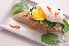 Poached Egg Tartine with Wilted Spinach and Ricotta! Its a great picture of amazing food. We agree and think you might want to make it.  If you are looking to lose weight the safe, healthy and effective way, you have found the place at NutrivityWeightLoss.com!