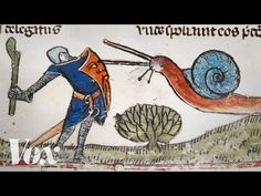 Why knights fought snails in medieval art - YouTube