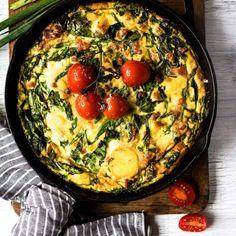 Avec des oeufs, c'est toujours mieux! - K pour Katrine Lunch Recipes, Healthy Recipes, Healthy Food, Confort Food, Brunch, Paella, Vegetable Recipes, Delish, Yummy Food
