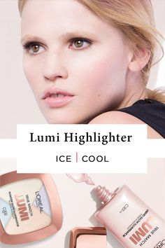 The first liquid highlighter from L'Oréal Paris specifically crafted to highlight key features or illuminate all-over. Ice Illuminator enhances pink or blue tones in cool skintones.