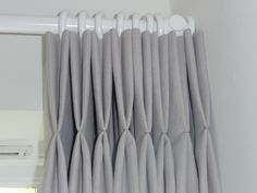 grey pinch pleat curtains