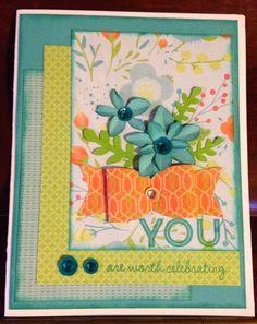 Crafty Happy : Seasonal Expressions 2 Blog Hop #Blossom #CardmakingWOTG #Artiste
