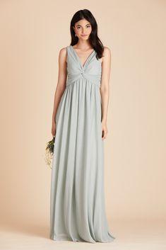 79547cbd548 Shop Birdy Grey s Lianna bridesmaid dress in Sage for under  100. The green  bridesmaid dress