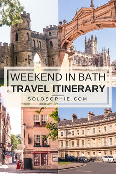 Weekend in Bath: A Two-Day Unexpected & Offbeat Historic Itinerary that features the very best things to do in Bath, Somerset, England.