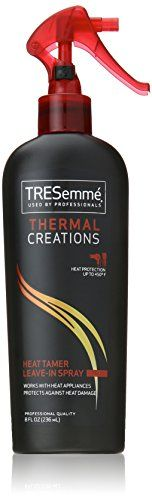 TRESemme Thermal Creations Heat Tamer Spray 8 oz * Click image to review more details.Note:It is affiliate link to Amazon.