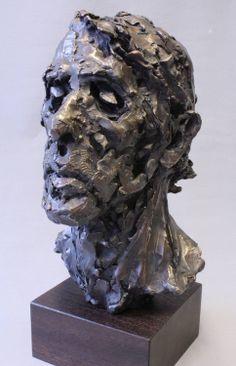 Head portrait, bronze, Alan McGowan 2013. www.alanmcgowan.com