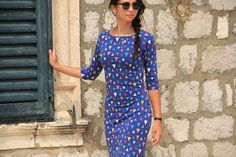 Sewing pattern Jackline - get your own ladies dress Dress Sewing Patterns, Sewing For Beginners, I Dress, My Design, Short Sleeve Dresses, Lady, Fashion, Moda, Fashion Styles