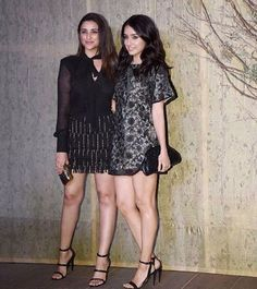 Parineeti and Sharaddha at Manish Malhotra's 50th birthday bash  don't they look beautiful? ❤ They even arrived together I'm just so happy pari shares a great bond with her peers  @parineetichopra I hope you had an amazing night, wishing you a very productive and eventful day ahead ❤