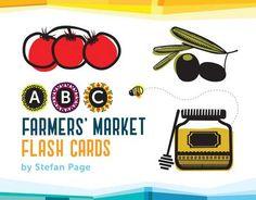 ABC Farmers' Market Flash Cards (Cards)