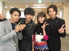 A girl n 3 sweethearts.I love Kento yamazaki 1 Girl, First Girl, Shuhei Nomura, Kento Yamazaki, Japanese Characters, Hanyu Yuzuru, Drama Movies, Actor Model, Celebs