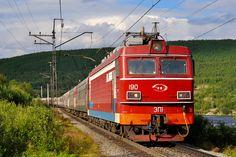 EP1-190 electric locomotive (Электровоз ЭП1-190)