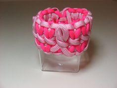 Breast Cancer Awareness Paracord Bracelets