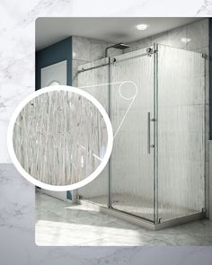 DreamLine's Enigma-X Shower Enclosure with Rain Glass is the perfect solution for your shower door, providing both beauty and function. The streaked, textured pattern makes it look as if rain is cascading down the glass, creating a serene and Zen-like ambiance. With rain glass, you also get a certain level of privacy while maintaining an open and spacious look. Rain glass is an elegant and versatile option that works for a variety of bathroom spaces and styles. Rain Shower Bathroom, Bathroom Stand, Glass Bathroom, Master Bathroom, Glass Shower Doors, Glass Door, Dreamline Shower, Earthy Style, Custom Glass