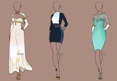 Fashion Adoptables Auction 3 - CLOSED by Karijn-s-Basement.deviantart.com on @deviantART