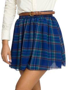 American Apparel skirt.