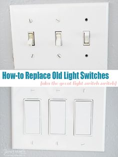 How-to Replace Old Light Switches || Love, Pomegranate House