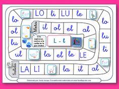 AYUDA PARA MAESTROS: Juegos de la oca para aprender a leer