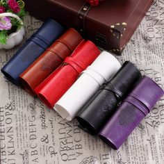Leather Vintage Retro Twilight Saga Pencil Bag Vampire Make up Cosmetic Roll Pencil Case School Supplies Free shipping 683 #>=#>=#>=#>=#> Click on the pin to check out discount price, color, size, shipping, etc. Save and like it!