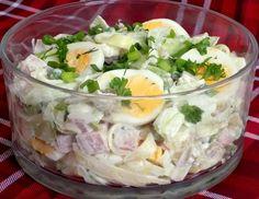 Sałatka makaronowa Potato Salad, Potatoes, Ethnic Recipes, Impreza, Food, Tarts, Dinners, English, Simple