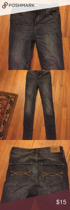 Selling this Abercrombie & Fitch Skinny Jeans in my Poshmark closet! My username is: catcas123. #shopmycloset #poshmark #fashion #shopping #style #forsale #Abercrombie & Fitch #Denim
