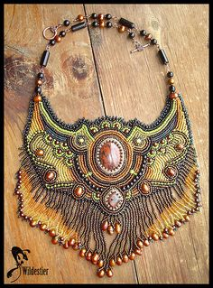 Bead embroidered beauty