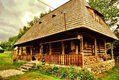 Romanian traditional crib