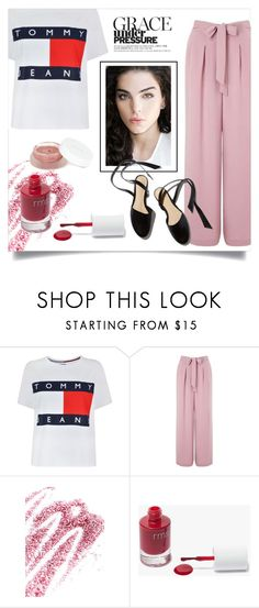 """""""Grace"""" by style-hue ❤ liked on Polyvore featuring Tommy Hilfiger, Miss Selfridge, Obsessive Compulsive Cosmetics and rms beauty"""