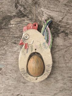 slepička s vyfouklým vajíčkem