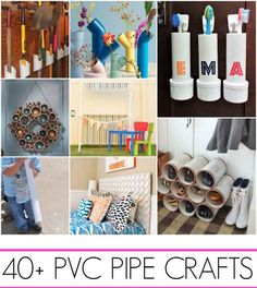 40+ PVC Pipe projects - Lil Moo Creations