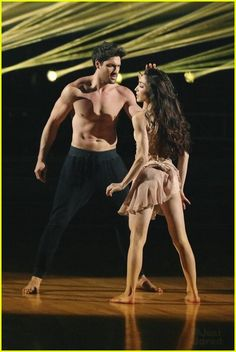 "Maks Chmerkovskiy & Meryl Davis danced freestyle to ""	Latch""  -   Dancing With the Stars  -  week 10 finale  -  Spring 2014  -  If this pair had gotten any hotter that stage would have spontaneously combusted."