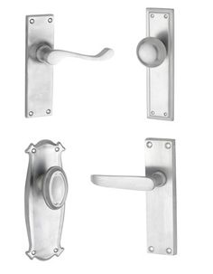 Satin Chrome Door Handles & Hardware http://www.restorationonline.com.au/door-handles-hardware