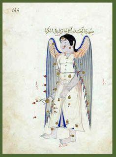 Virgo - a transcript of Abd al-Rahman al-Sufi's Book of Fixed Stars/Kitab suwar al-kawakib al-thabita by Ulugh Beg, Samarkand 1436