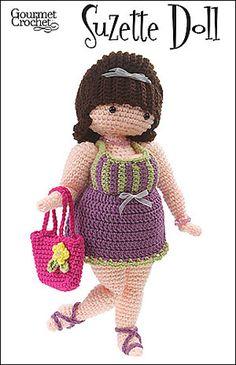 Ravelry: Suzette Doll pattern by Carolyn Christmas