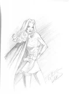 Supergirl by Greg Land