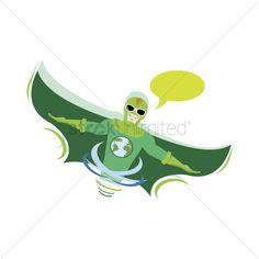 Superhero with speech bubble stock vector , #SPONSORED, #speech, #Superhero, #bubble, #vector, #stock #affiliate