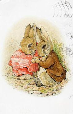 Peter Rabbit and Benjamin Bunny. B Potter?? ▓█▓▒░▒▓█▓▒░▒▓█▓▒░▒▓█▓ Gᴀʙʏ﹣Fᴇ́ᴇʀɪᴇ ﹕☞ http://www.alittlemarket.com/boutique/gaby_feerie-132444.html ══════════════════════ ♥ #bijouxcreatrice ☞ https://fr.pinterest.com/JeanfbJf/P00-les-bijoux-en-tableau/ ▓█▓▒░▒▓█▓▒░▒▓█▓▒░▒▓█▓