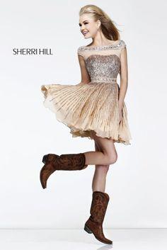 Sherri Hill 8518, Sherri Hill Prom Dresses, Madame Bridal, Prom 2014