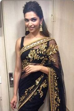 Deepika Padukone in Sabyasachi at Dil Se Naache Indiawaale to Promoted HYN