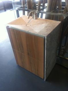 Fell in love with this Boffi sink when I was in their Miami showroom this past December. She will be mine.