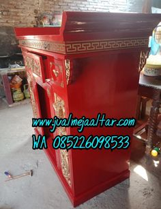 Tempat jual meja altar sembahyang   BERKAH MEBEL JEPARA Altar, Shabby Chic, China, Home, Ad Home, Homes, Houses, Porcelain, Haus