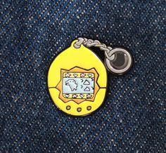 Tamagotchi lapel pin7/8 by doubledenimdude on Etsy