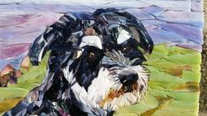 Pet Portrait Cat or Dog custom mosaic from by ArtMosaicsVetro Mosaic Diy, Mosaic Crafts, Mosaic Ideas, Dog Quilts, Animal Quilts, Mosaic Portrait, Mosaic Animals, Mosaic Pictures, Button Art