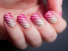 Nail Designs 2014 are simple and beautiful Nails to coat - Nail Art Designs 2014 contain Best Designs of 2014 year - Latest Nail Designs and Nail Art Nail Designs 2014, Colorful Nail Designs, Cute Nail Designs, Nail Art 2014, Nail Art Blog, Nail Art Stripes, Striped Nails, Pink Stripes, Dream Nails
