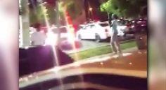 Video captura a hombre disparando un arma de fuego después de juego de los Cardinals