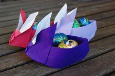 Coniglietti origami per Pasqua