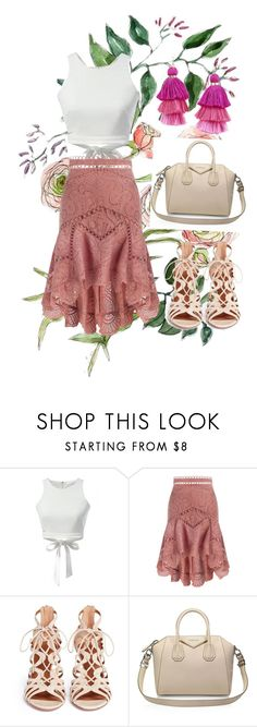 """""""2017 : summer classy"""" by abelaz on Polyvore featuring Zimmermann, Aquazzura, Givenchy and Armitage Avenue"""