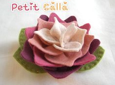 felt flower    http://www.etsy.com/listing/61699011/aileen-pink-lotus-wool-felt-flower?ref=sr_gallery_1&ga_search_submit=&ga_search_query=felt&ga_view_type=gallery&ga_ship_to=KR&ga_order=date_desc&ga_page=0&ga_search_type=handmade&ga_facet=handmade