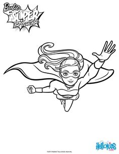 Barbie Super Power In Action Printable